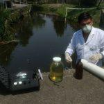 Toma de muestra de agua residual