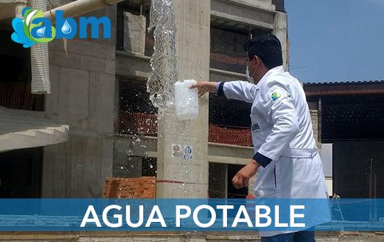 Laboratorio de analisis de agua potable