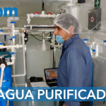 Laboratorio de analisis de agua purificada