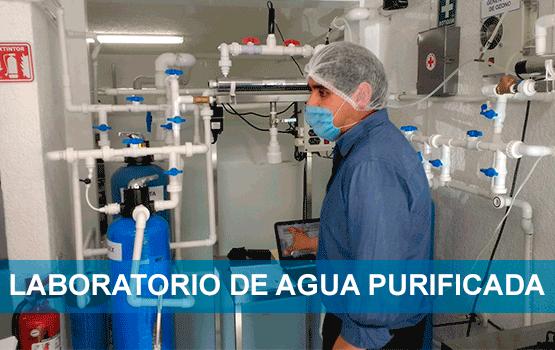 Análisis de agua purificada